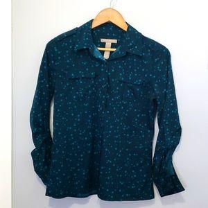 💙5 for $16- Banana Republic star blouse